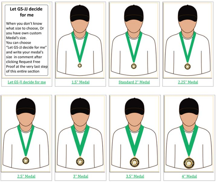 Custom Medals | How to Select Ribbons For Medals? > GS-JJ com