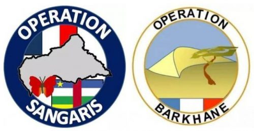 two most important military operations emblems of the French Army in Africa