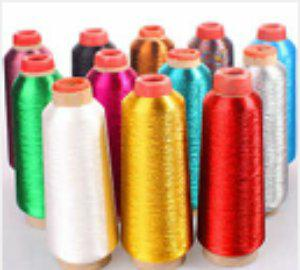Various metallic threads