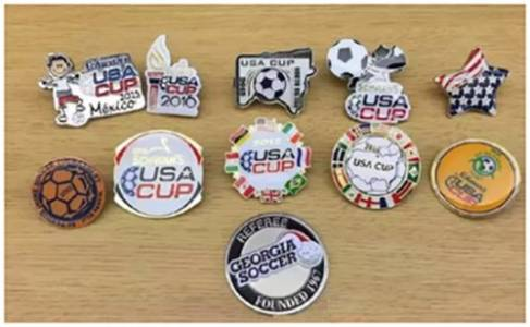 (American Cup pins)