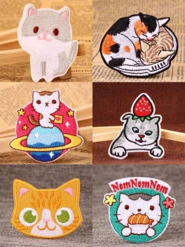 Types of Cats Patches
