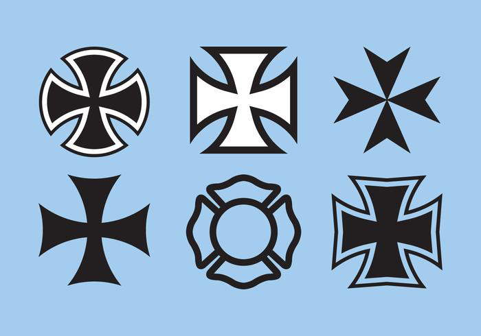 maltese-cross-vector