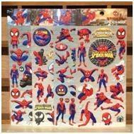 spiderman sticker sheet