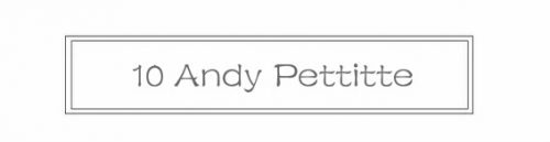 10 Andy Pettitte