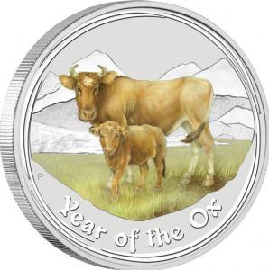 2009 Ox Challenge Coins