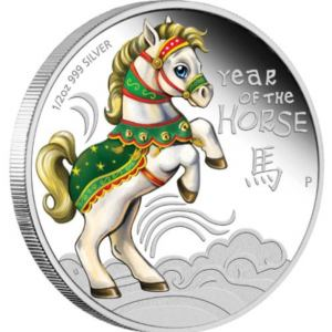 2014 Baby Horse Challenge Coins