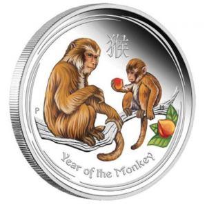 2016 Monkey Challenge Coins