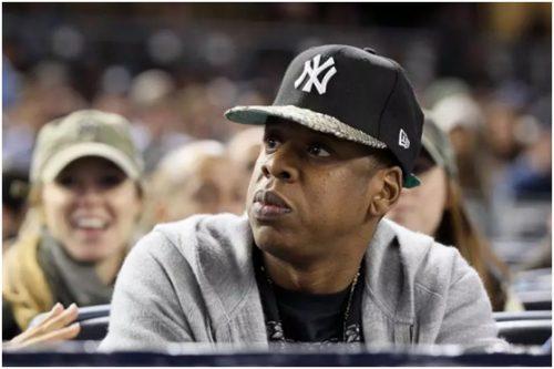 Jay-Z wearing NY CAP