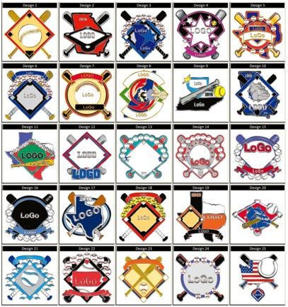 Baseball Pin Design Model