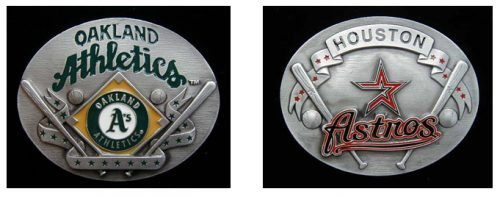 Baseball Belt Buckles