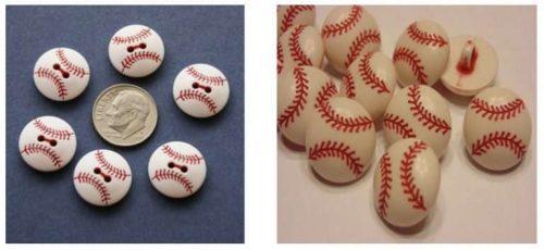 Baseball-Buttons