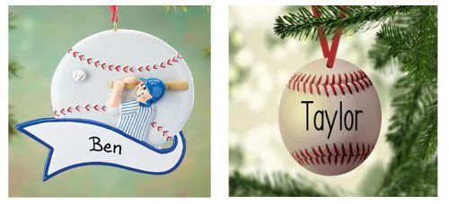 Baseball-Ornaments