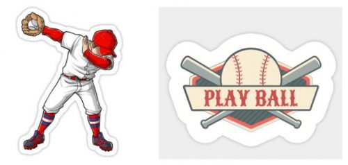 Baseball-Stickers