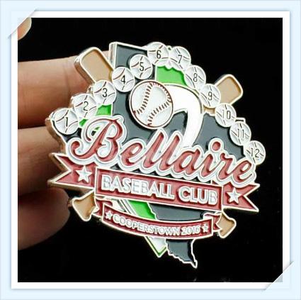 Bellaire Baseball Pins