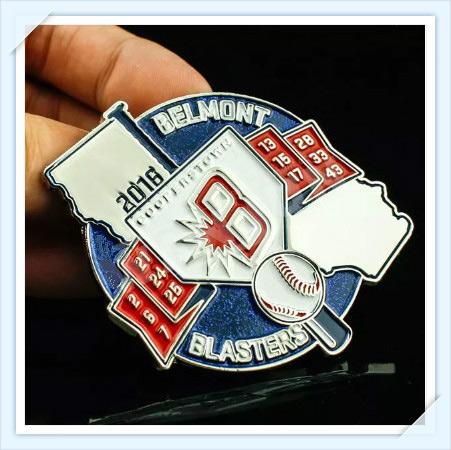 Belmont Baseball Lapel Pins