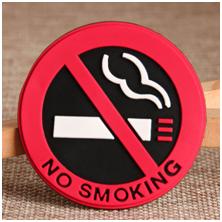 No smoking PVC sign