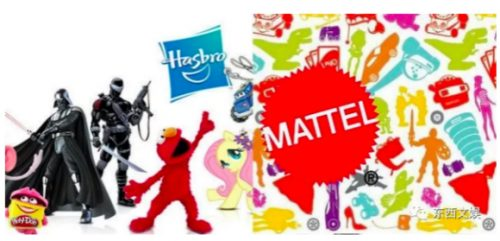 Mattel and Hasbro