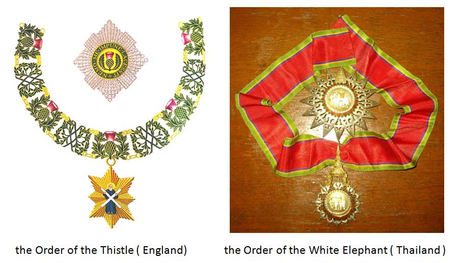 Medals Under Noble Honor System