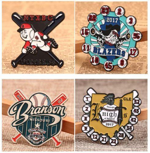 GS-JJ'S Baseball Pins