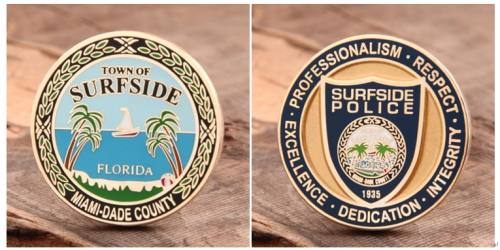 Surfside Challenge Coins