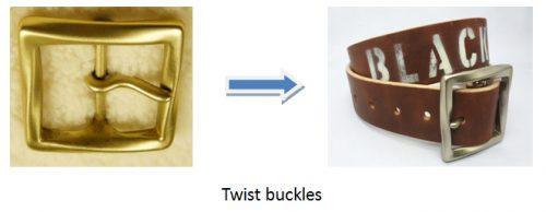 Twist-buckles
