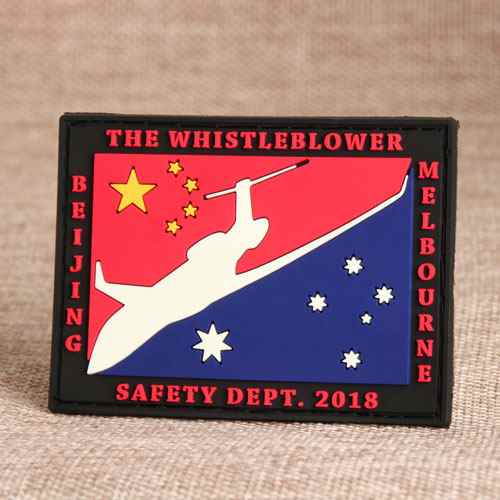 Whistleblower PVC Patches
