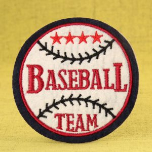 Baseball Custom Embroidered Patches