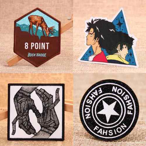 Types of Woven Patches