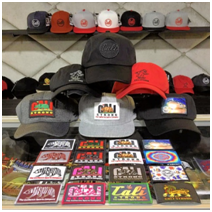Baseball hats and PVC patches