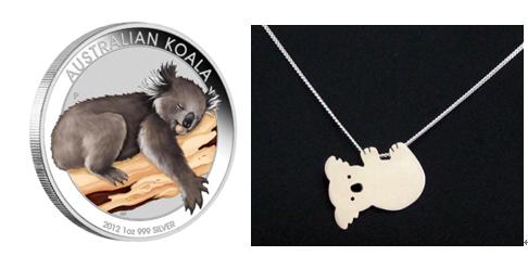 Koala Custom Silver Coins