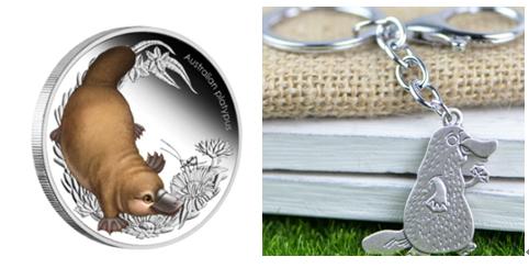 Platypus Custom Silver Coins