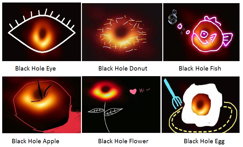 Black Hole P.S. Match