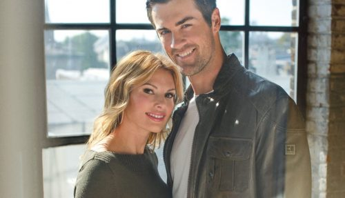 Cole Hamels And Heidi Hamels