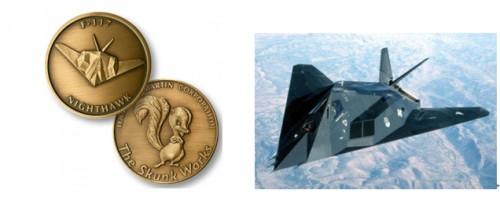 F-117 Nighthawk Aircraft Coins