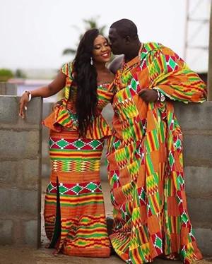 Wedding dress--Ghana