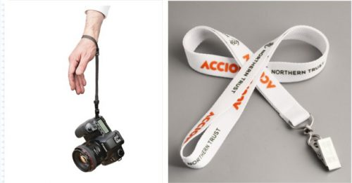 High quality lanyards for camera