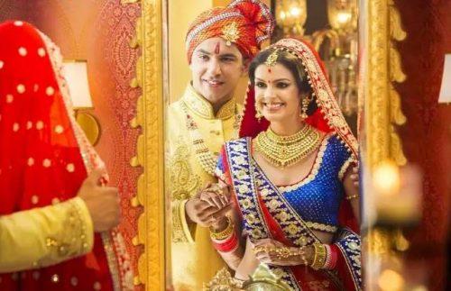 Wedding dress--India