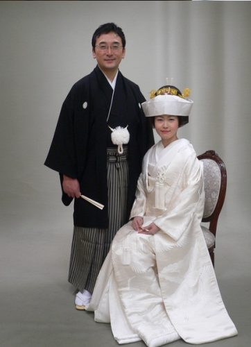 Wedding dress--Japan