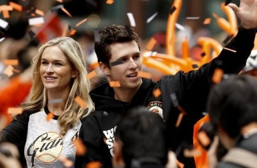 Buster Posey and Kristen Posey