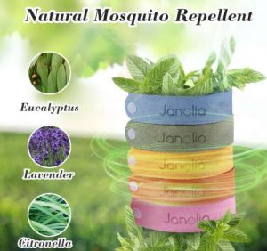 Natural Mosquito Repellent Wristbands