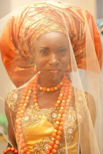 Wedding dress--Nigeria