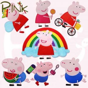 Peppa Pig Embroidery Products