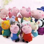 Different lovely Peppa Pig Toys
