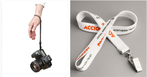 Taking camera with lanyards when you have travelling plan