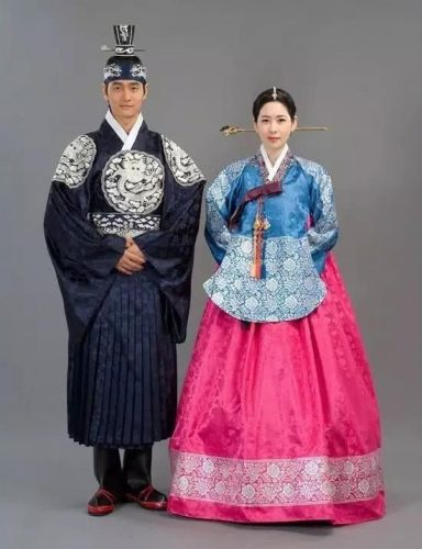 Wedding dress--South Korea