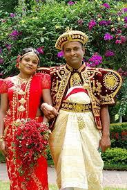 Wedding dress--Sri Lanka