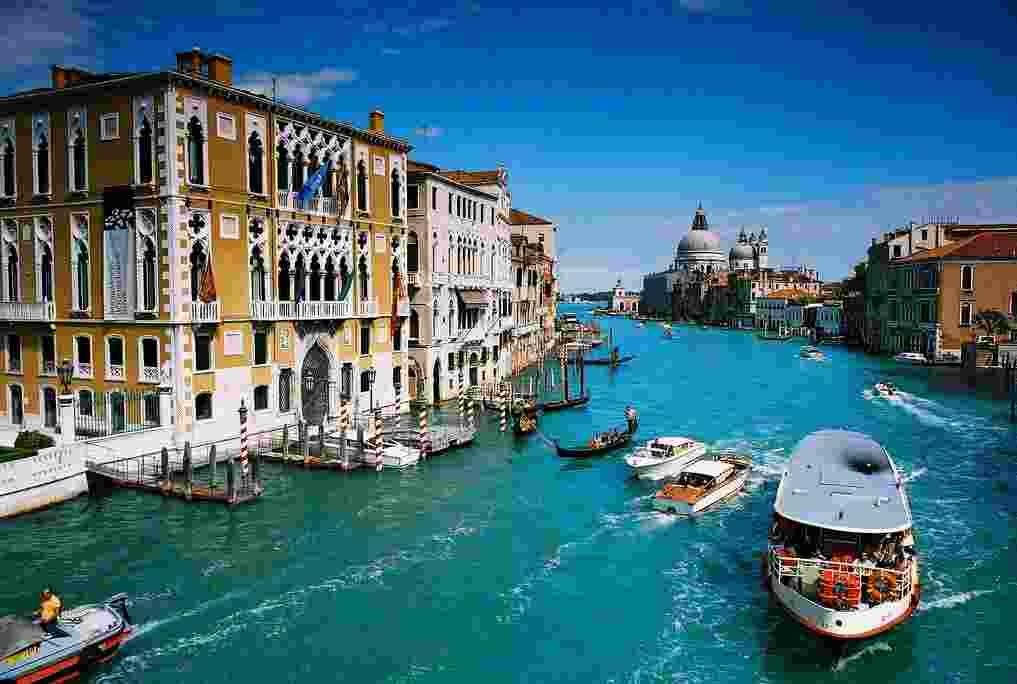 The Venice in Italy