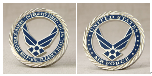 USAF Custom Challenge Coins