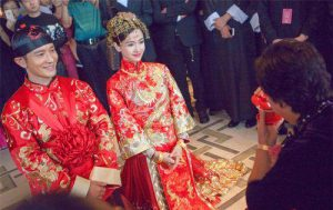 Wedding dress--China