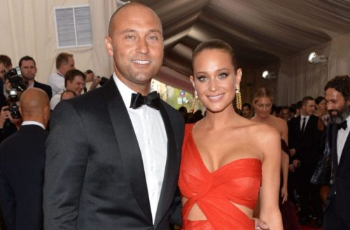 Derek Jeter And Hannah Jeter